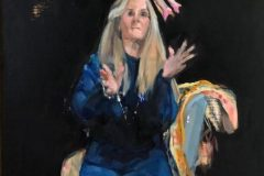 "Janet Romanowski, ""Divalicious"", oil, 13'x10', $400"