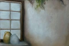 "Patricia Trapp, ""Country Crocks"", pastel, 12x9, $650"