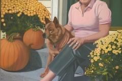 "CP White, ""Eileen Lucy"", oil, 30x24, $2,000"