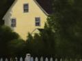 Dawn Tyler, <i>Yellow House, </i>oil, $500