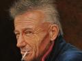 Del-Bourree Bach, <i>Spike, </i>acrylic, $6,000