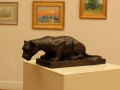 Serena Bates, <i>The Lookout, </i>bronze  , $2,200