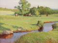 Zufar Bikbov, <i>Field Brook, </i>oil, $1,600