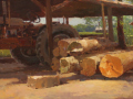 Zufar Bikbov, <i>Ready for Saw, </i>oil, $3,900