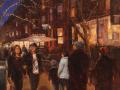 Tony D'Amico, <i>Evening Stroll, </i>oil, $3,500