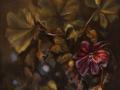 Lisa Defilippo, <i>Geranium, </i>oil, $250