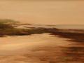 Donna Gilberto, <i>Fog at Lowtide, </i>oil, $1,200