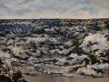 Dianne Gorrick, <i>Incoming Tide, </i>acrylic, $800