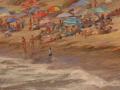 Bill Hanson, <i>Summer Beach, </i>oil, $1,200