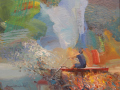 Sunil Howlader	, <i>	Day Break	, </i>	acrylic	, 	$950