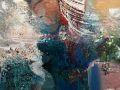 Sunil Howlader, <i>Life Underwater, </i>acrylic, $1,600, 14 x 21