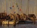 Susan Jositas, <i>Lines and Colors, </i>oil, $1,200