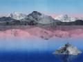 Kathleen DeMeo, <i>Quietude, </i>monotype, $825
