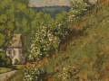 Jim Laurino, <i>Raspberries and Young Cottonwood, </i>oil, $2000