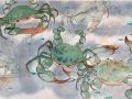 Gale Loch	, <i>	Crabs	, </i>	watercolor	, 	$700	, 	19 x 25