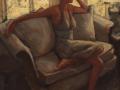 Sarah Stifler Lucas, <i>Repose, </i>oil, $1100
