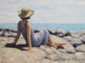 Sarah Stifler Lucas, <i>Timeless, </i>oil, $695