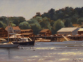 Sean Murtha, <i>Boothbay Morning, </i>oil, $900