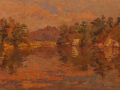 Leif Nilsson, <i>Seldon's Creek, </i>oil, $24,000