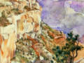 Dan Nichols, <i>From the South Rim, </i>watercolor, $350
