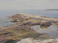 Diana Roberts Paschall, <i>Tidal Pool, </i>oil, $800
