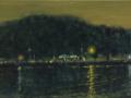 Crista Pisano, <i>Nocturne 10:00 PM, </i>oil, $950
