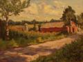 Michael Rogan, <i>Early Evening Light, </i>oil, $600