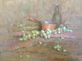 Matthew Schwager, <i>The Unassuming Table, </i>pastel, $1200
