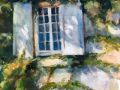 Shauna Shane, <i>Harkness Window, </i>watercolor, $750, 24 x 18