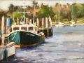 Bill Sonstrom, <i>Quiet Day in Stonington, </i>oil, $375, 6 x 8
