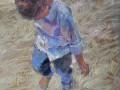 Jessica Teti Turgoose, <i>Sandy Footsteps, </i>pastel, $550