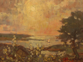 John Traynor, <i>Pastel Evening, </i>oil, $4900