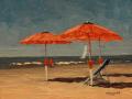 Nelson H. White, <i>Bagno La Satute, </i>oil, $3500