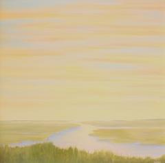 "Pamela Carlson, ""Day Dreams"", acrylic, $850"