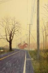 "Debbi Goodman, ""Misty Morning"", oil, $1,600"