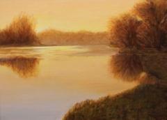 """Irene Jeruss, """"A New Day"""", oil, $750"""