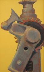 "Earl Grenville Killeen, ""Profile of Jack"", watercolor, $1,000"