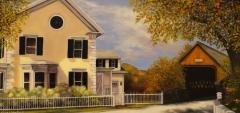 """Lisa Linehan, """"Autumn in Vermont"""", oil, $2,100"""