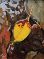 """Sara Drought Nebel, """"After the Rain"""", acrylic, $350"""