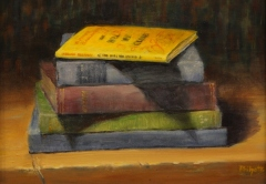 """Liane Philpotts, """"Stand Out"""", oil, $450"""