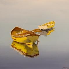 "Jeff Sabol, ""Peaceful"", acrylic, $2,800"