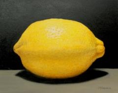 """J.Elaine Senack, """"Lemon Fresh"""", acrylic, $650"""