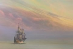 Bach_Del-Bourree_MagicalHistoryTour-MayflowerSail2020_acrylic_18x36_15000