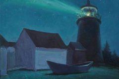 Daskam_Rick_LighthouseandDoryNocturne2_oil_9x12_950