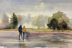 Micelli_Lisa_Rain-at-Ninigret-Park_wc_11x14_625