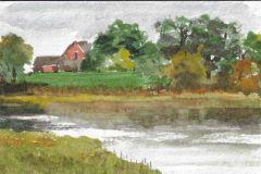 Paulson_Debra_ClamLanding_watercolor_4x6_175