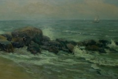 Youngs_Cean_In-the-Distance_oil_18x36