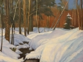 Anisimov Alexander Salmon Brook in Winter