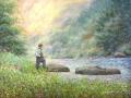 Hall K Luther Housatonic River Angler