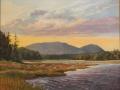 Holmes Jennifer Bass Harbor Marsh Sunset